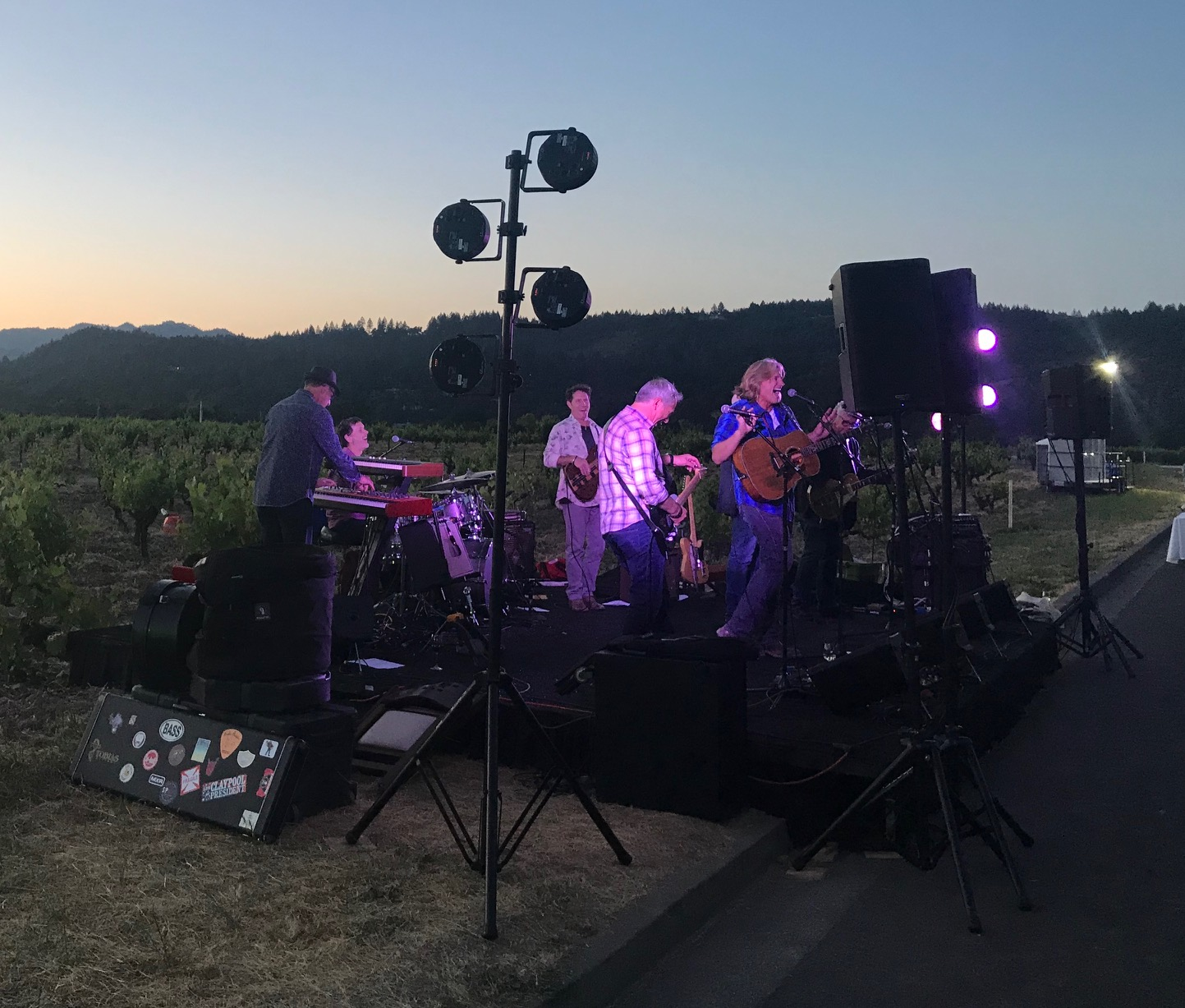 2019 St. Helena Neighborhood Table Dinner Silverado Pick-ups Band