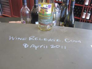 L'Ecole Tasting Bar:  WineRelease Was Here